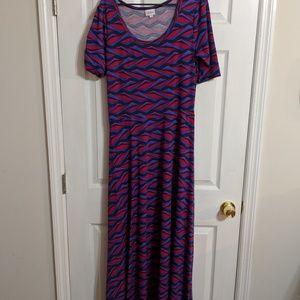 LuLaRoe Dresses - Lularoe Ana (Maxi) Dress (12-18)